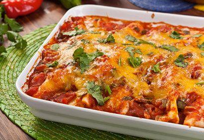 Enchiladas au boeuf effiloché | Coup de Pouce