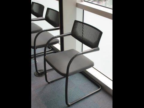 Used Vitra Visavis Chairs HD 720p. Business Furniture