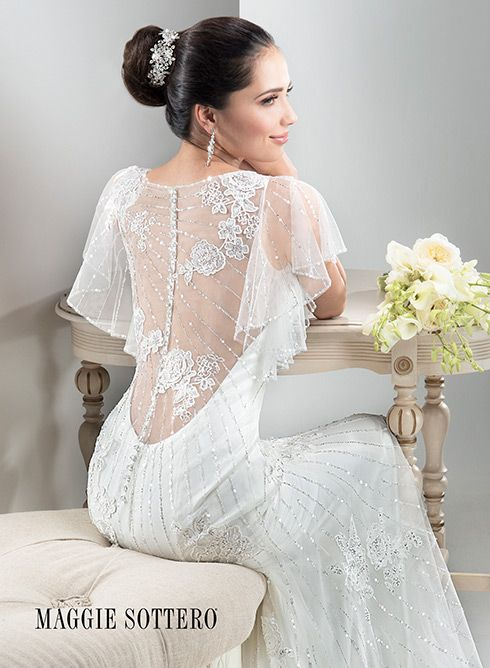 Large View of the Savannah Bridal Gown