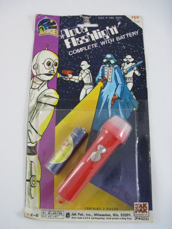 Star Wars...ummm I mean Star Force Flashlight in by RubyMeows