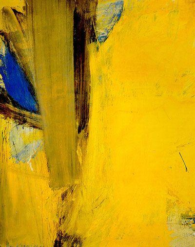 Willem de Kooning ~ Montauk Highway, 1958 (oil, mixed media)