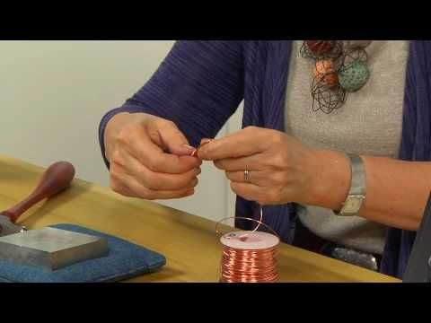join artist and best-selling author Ronna Sarvas Weltman in 5 watch-and-learn lessons as she shows you step by step how to add depth and sophistication to simple wire jewelry.