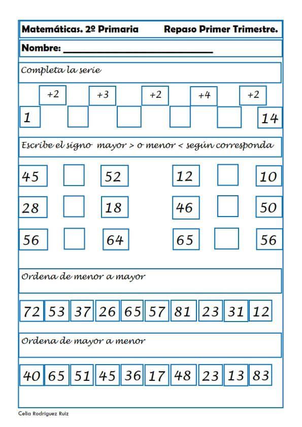 ejercicios 2o eso matematicas pdf