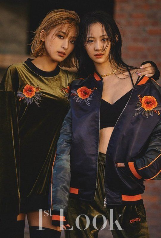 SISTAR's Bora and Dasom partnered up for a chic photo shoot with '1st Look'.After radiating much charisma and style for the pictorial, Bora and Dasom …