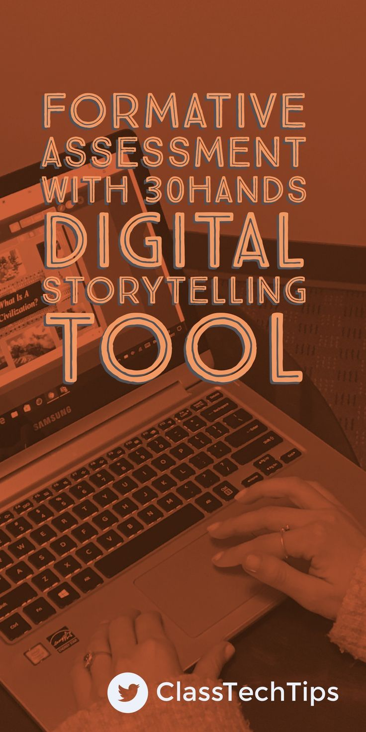 Digital storytelling lesson idea! How does the 30hands digital storytelling tool connect to formative assessment? The team at 30hands Storytelling believes in the power of creativity.