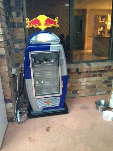 Red Bull Petrol Bowser Fridge Ideas For The House