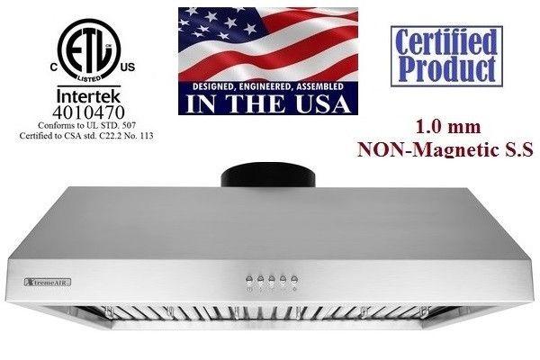 "XtremeAir Ultra Series UL11-U30, 30"" Under cabinet hood"