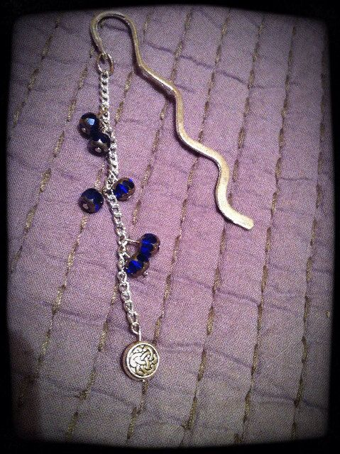 Handmade Silver Celtic Bookmark on Etsy, $10.00 CAD