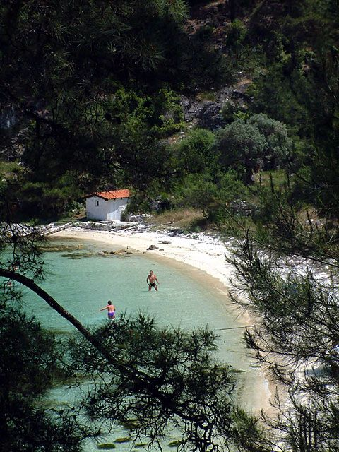 Makryammos beach, Thassos