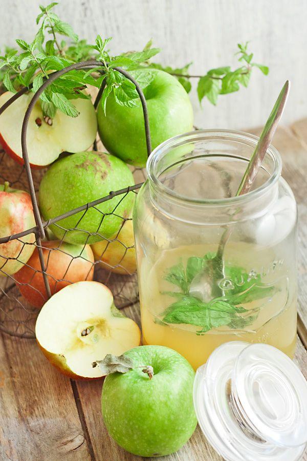 Яблочно-мятное желе - Рыжая книга кухонных пределов