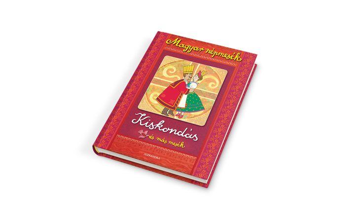 Hungarian Folk Tale book series design