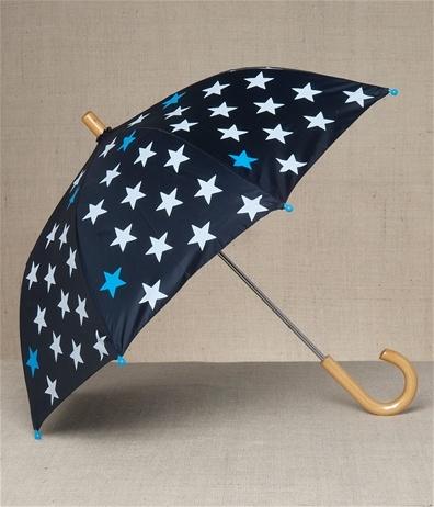 Hatley Store: Hatley Blue Fun Stars Kids' Umbrella