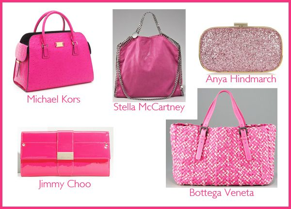 Pink bags from Resort Collection