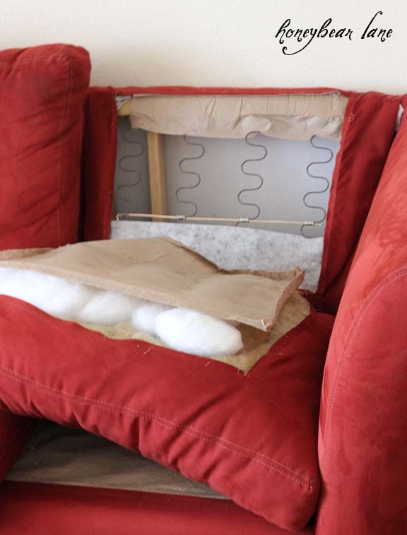 How to Make a Couch Slipcover Part 1 - HoneyBear Lane