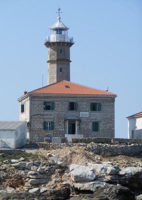 """Daniela Scarel """" ARTE """": Faro di Sveti Ivan in Croazia dove Dormire"""