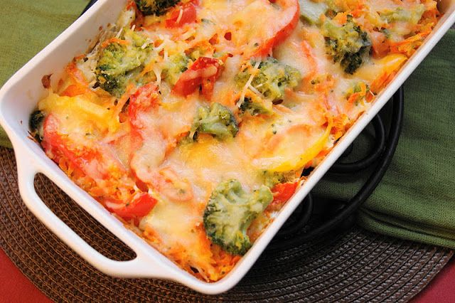 Bell Pepper & Broccoli Vegetable Lasagna | The Kitchen is My Playground {kf}