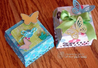 Butterflies and boxes