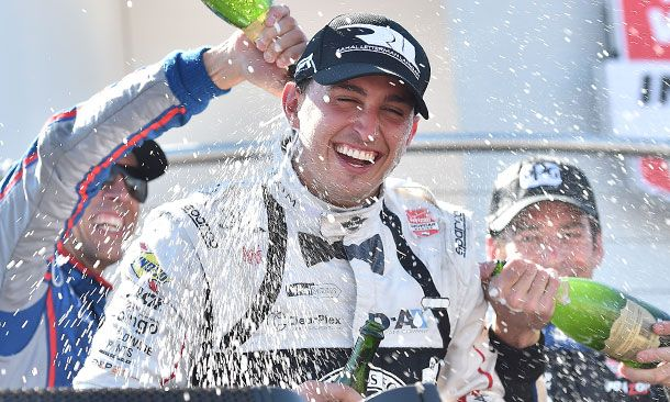 Rahal wins at Mid-Ohio, closes to 9 points of top