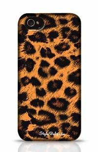 Leopard Skin Apple iPhone 4 Phone Case
