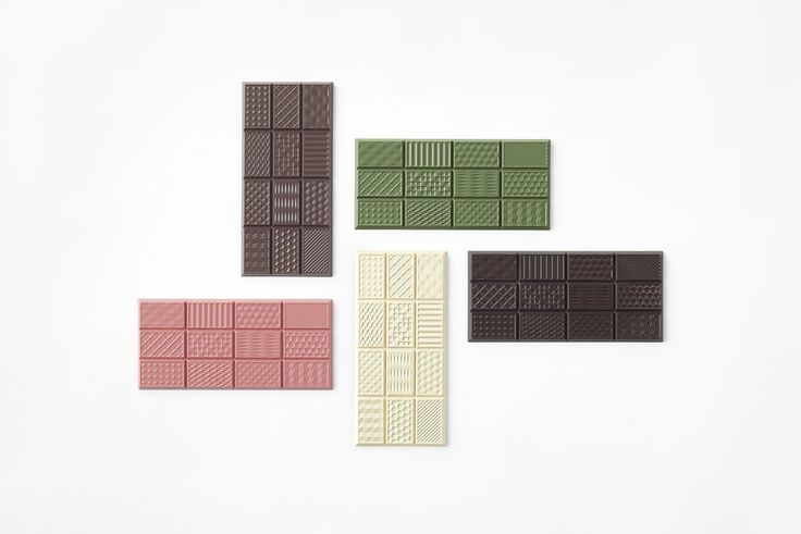 Chocolats texturés | MilK decoration