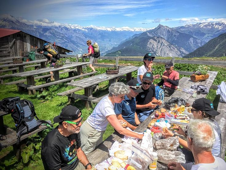 Lunch on the Bovine Trail. The European Alps stretches across seven countries in Western Europe – France, Italy, Switzerland, Austria, Monaco, Litchenstein and Slovenia. While the Alps in each country vary from height and character geographically, each country, region, town, village & hamlet also has its own cultural, historical and gastronomic identity.  #travel #europe #traveleurope
