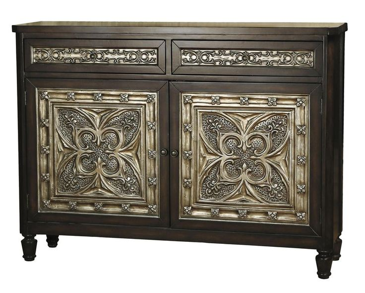 cool tin ceiling console