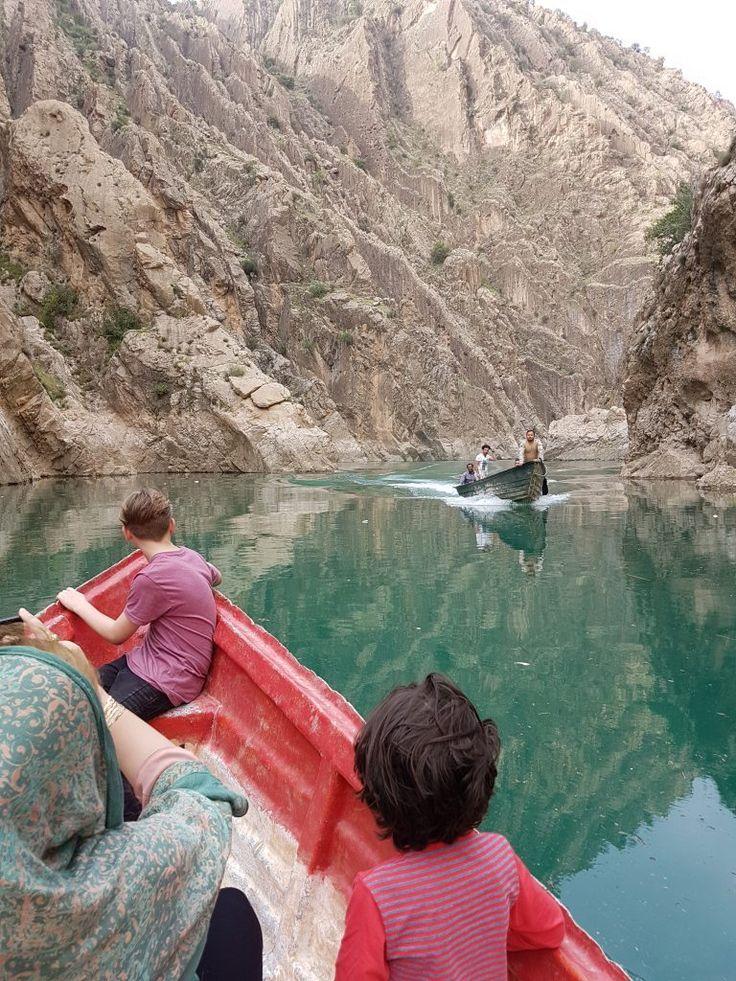 En sejltur på floden Karun