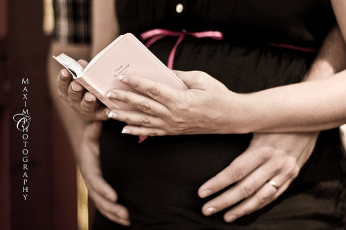 So going to get a photo like this when I'm pregnant!