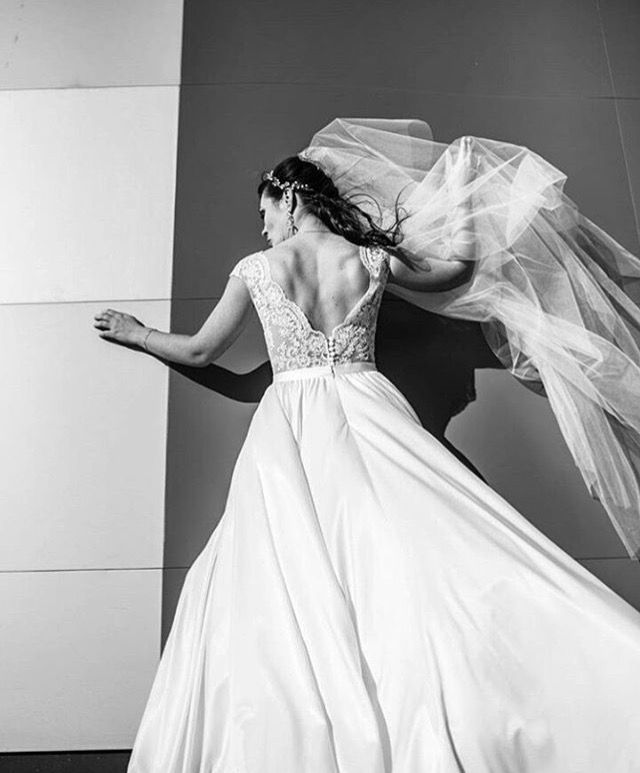 Incredible photo shoots from weddings of our brides... The moment, when already the beautiful becomes even more wonderful! #tinavalerdi