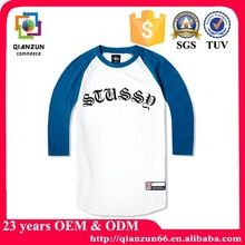 Men 3 4 sleeve blank cotton printing baseball t shirt wholesale best seller follow this link http://shopingayo.space