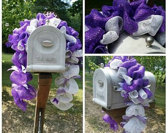 Christmas In July Sale K-State Wildcats, KSU, Kansas State, College Football, Team Spirit, K-State Fan, Mailbox Topper, K State Wreaths, K S