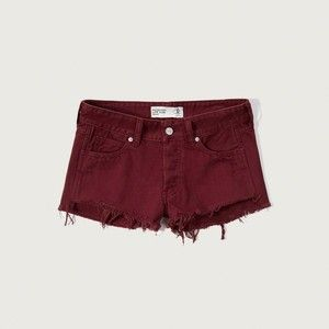 Abercrombie & Fitch Low Rise Two Inch Short