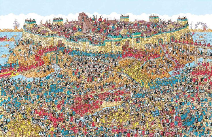 Where's Waldo Mobile Troy Map