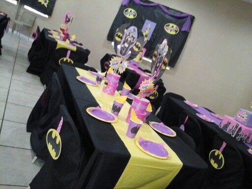 Batgirl centerpiece