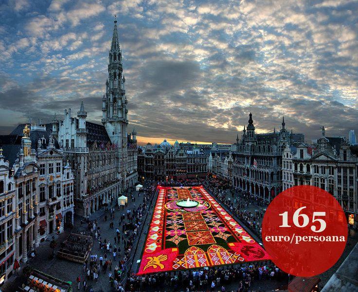 OFERTA valabila numai astazi!  City Break Bruxelles - include bilete de avion si 4 zile/3 nopti cazare la hotel de 4 stele, cu mic dejun inclus. Ce mai astepti? #citybreak