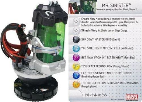 Mr. #sinister - #marvel - #chaos war heroclix #047,  View more on the LINK: http://www.zeppy.io/product/gb/2/201709406249/