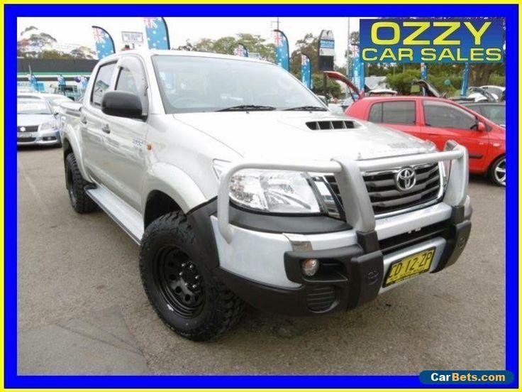 2013 Toyota Hilux KUN26R MY12 SR (4x4) Silver Automatic 4sp A Dual Cab Pick-up #toyota #hilux #forsale #australia
