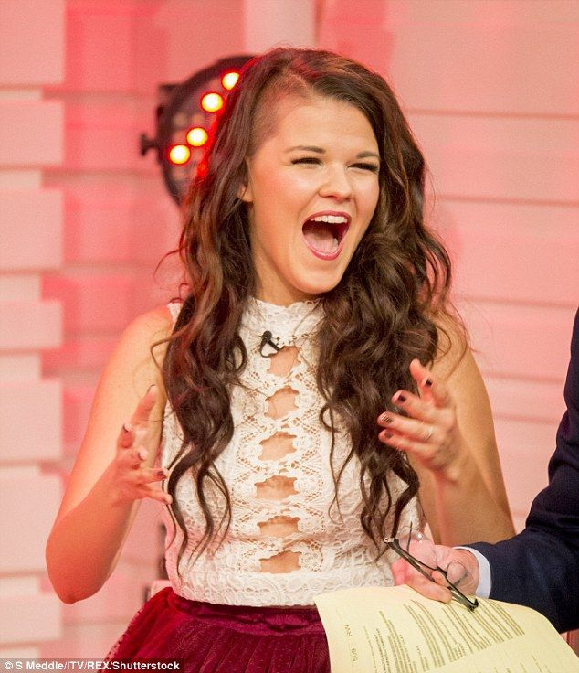 Still in! Saara Aalto was diplomatic when questioned about her time on X Factor during a chat with Good Morning Britain on Monday