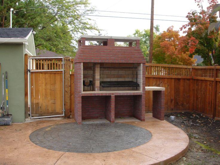 Parrilla argentina outdoor kitchen pinterest gardens for Outdoor kitchen bbq for sale