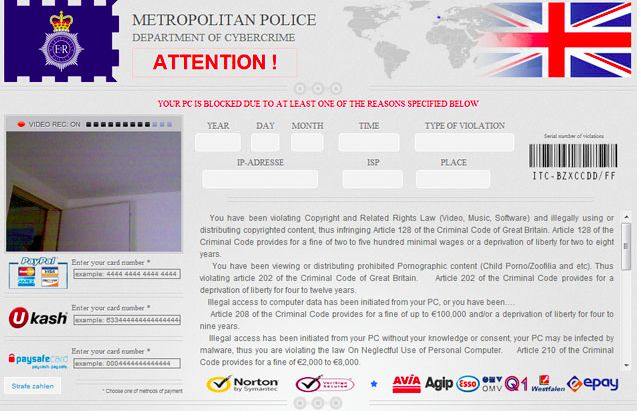 How to eliminate Police Ransom Trojan.