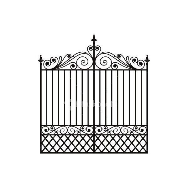 Benefits Of Choosing Wrought Iron Fence Liked On Polyvore