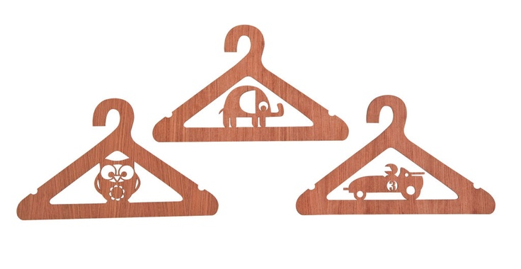 Lasercut hangets from sebra