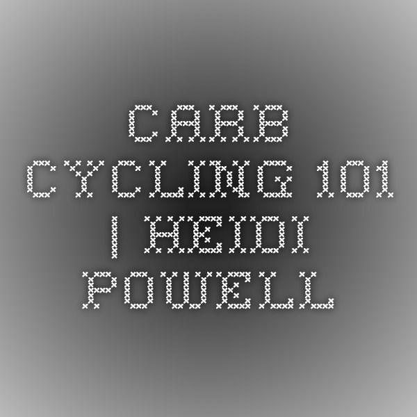 Carb Cycling 101 | Heidi Powell