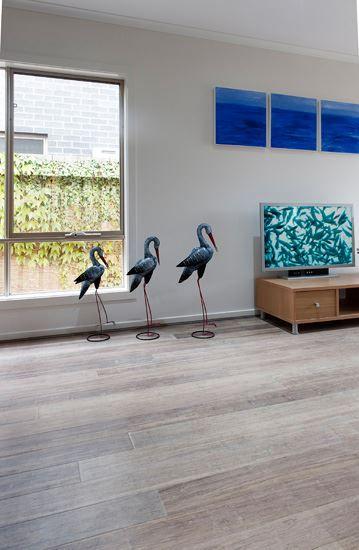 Flooring bamboo and house on pinterest for Beach house flooring ideas