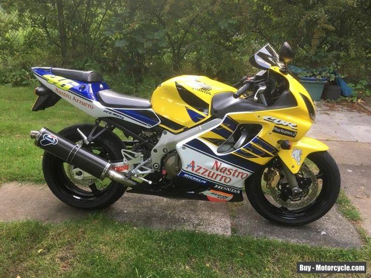 Honda CBR 600 F Sport 2002 Valentino Rossi Rep #honda #cbr600fsport #forsale #unitedkingdom