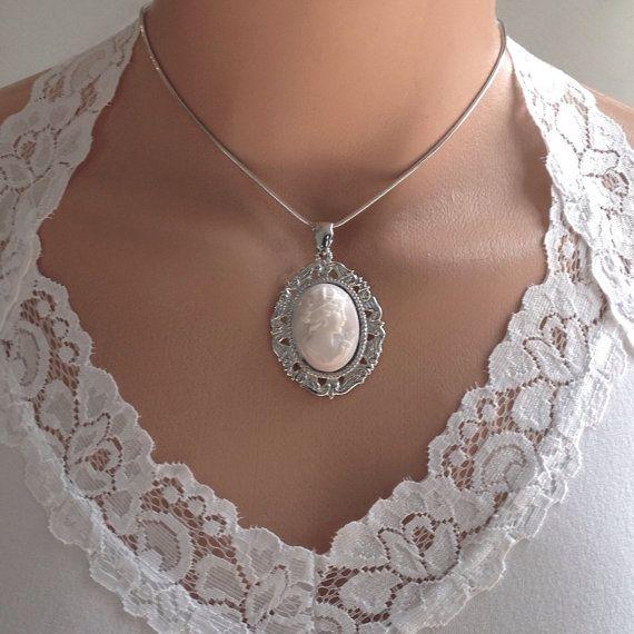 Pink Bridal Necklace Jewelry-Pink Wedding by DinnerwearJewelry