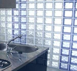 Decoración de Interiores con Bloques de Vidrio o Pavés