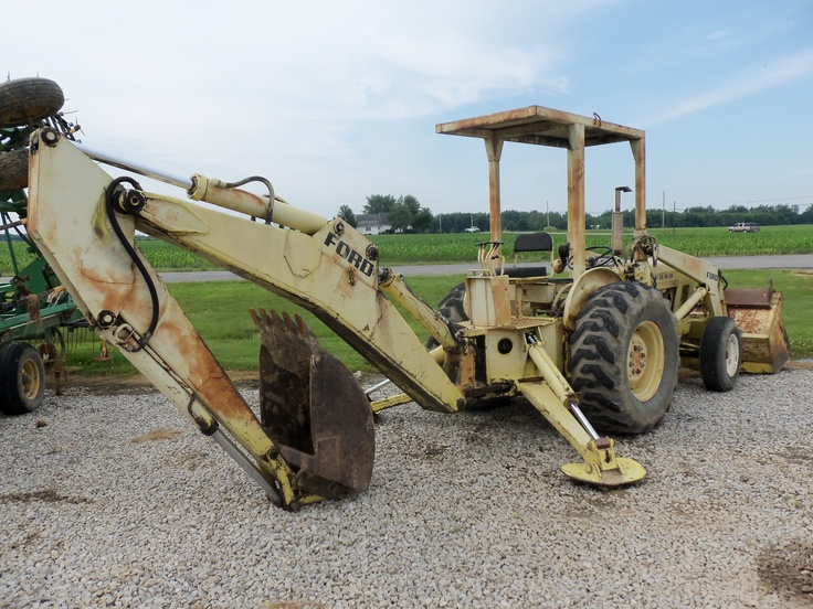 Ford 3550 Tractor : Ford backhoe tractors equipment pinterest