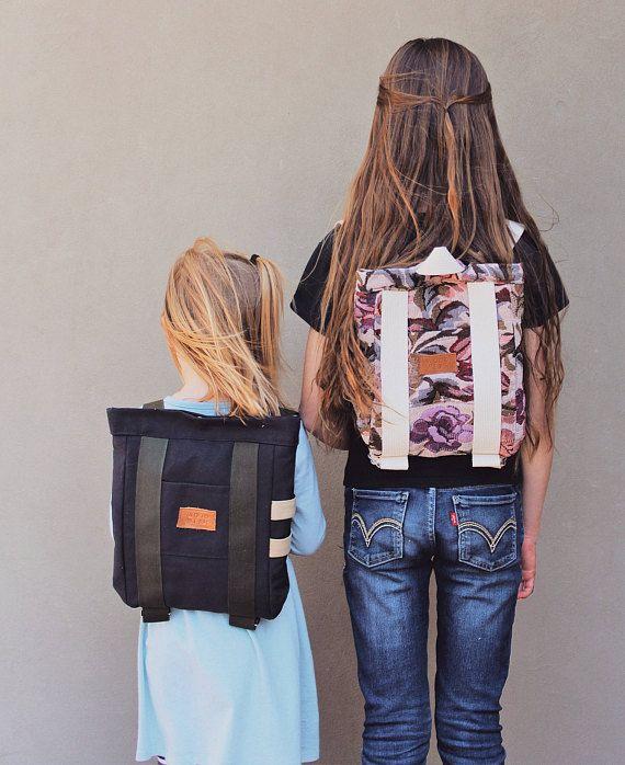 Kids Backpack mini backpack preschool backpack handmade