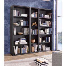 Ensemble de 3 étagères bibliothèque